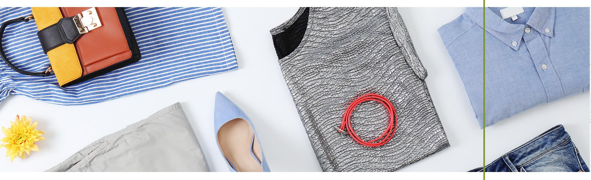 Ubrania z tkanin z recyklingu